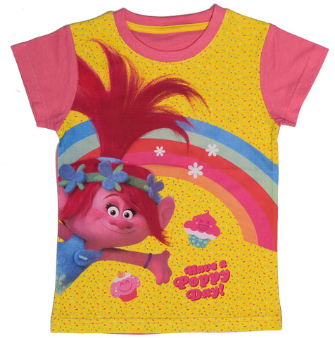 Trolls rainbow top