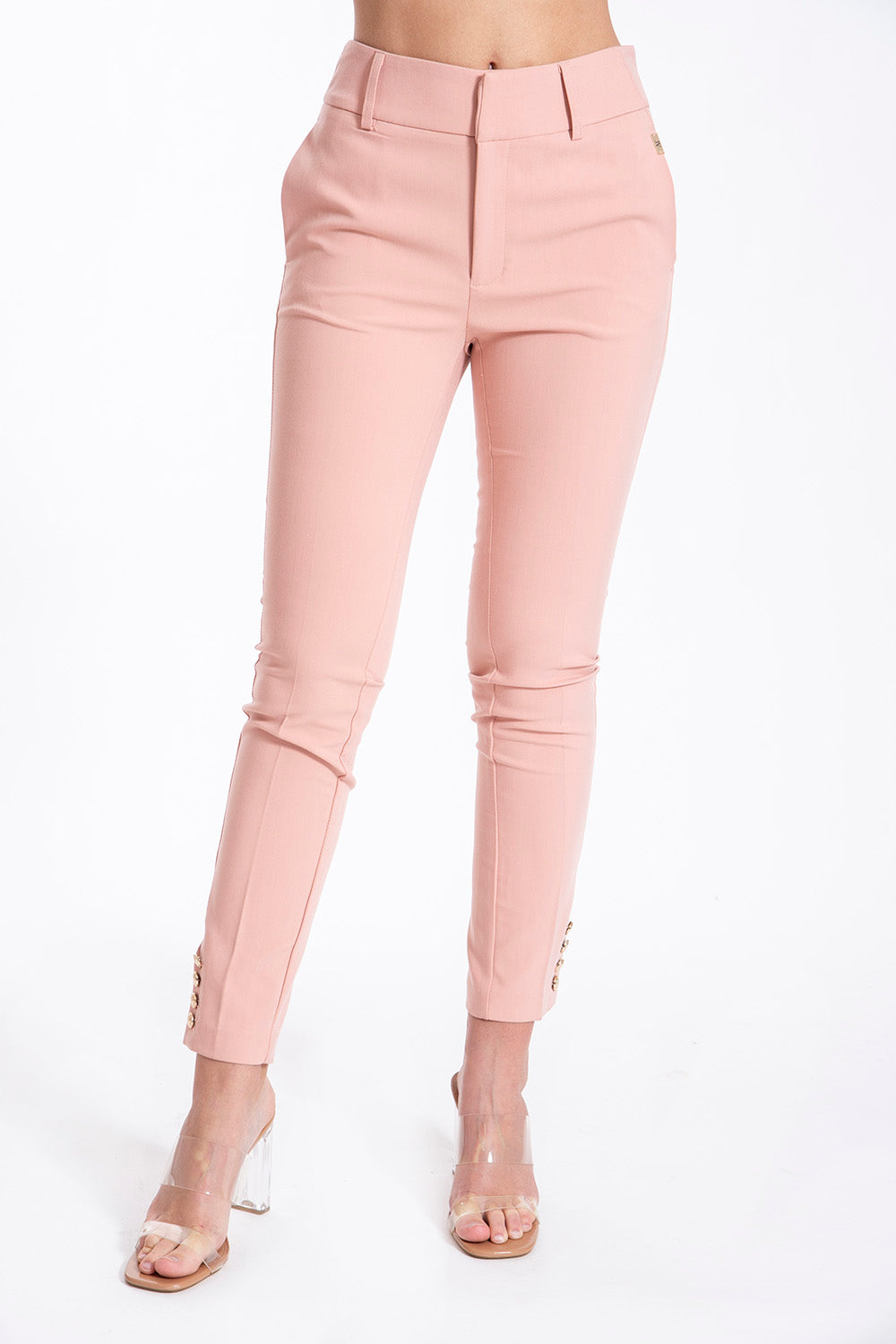 JoshV ankle length tapered trousers
