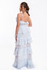 True Decadance extreme frills maxi dress