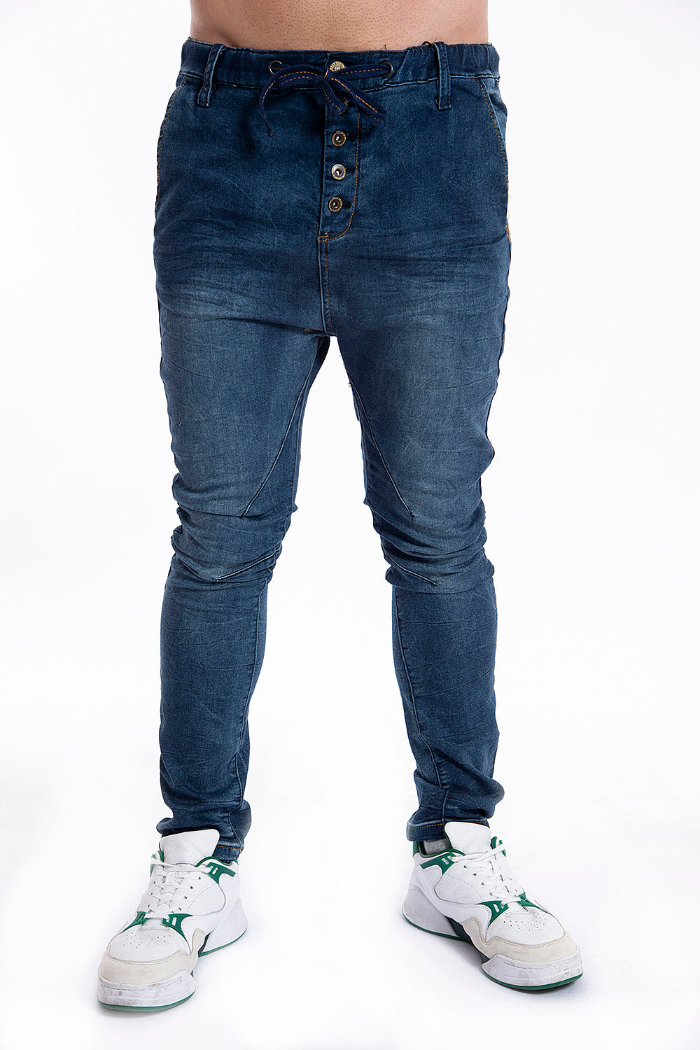 Urban Surface jeans with drawstring