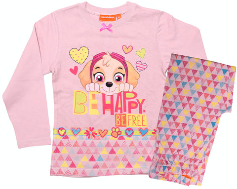 Paw Patrol Skye geometric design pyjamas set