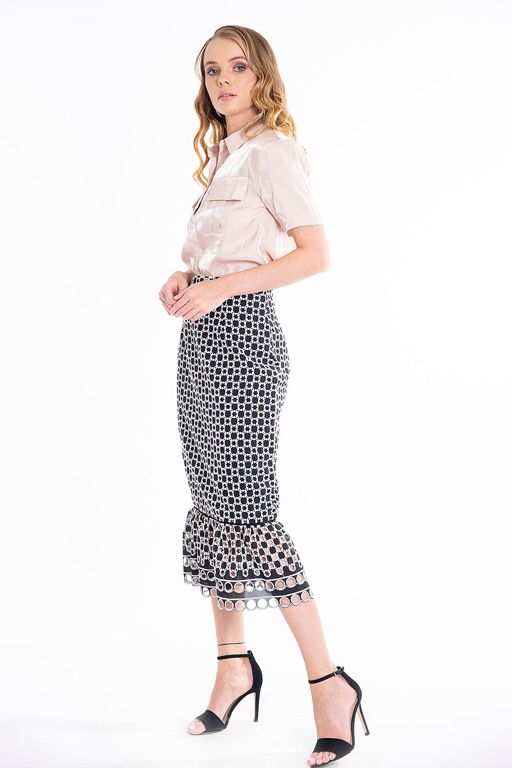 True Decadance mermaid midi skirt