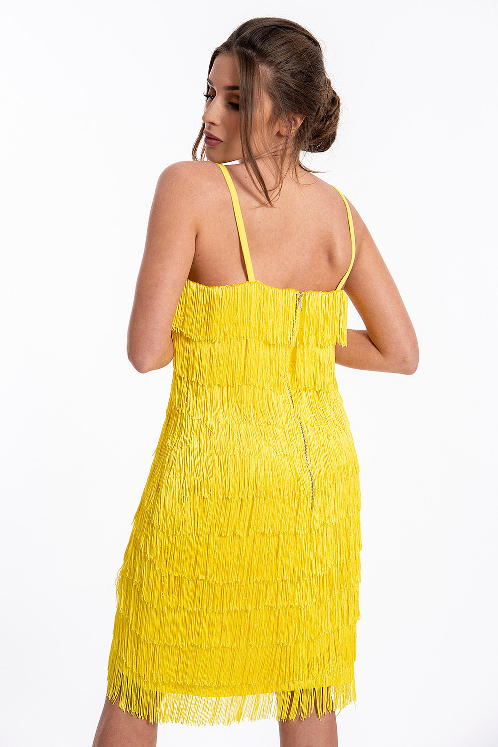 Lavish Alice Fringe mini dress