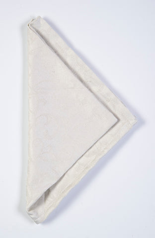 Lenox luxury napkin in ivory design