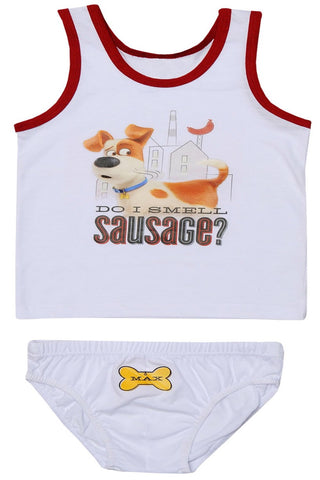 The Secret Life of Pets tank top set underwear