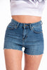 Kavanagh jeans shorts with back extreme rip