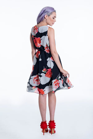 Sweet Miss floral tea dress