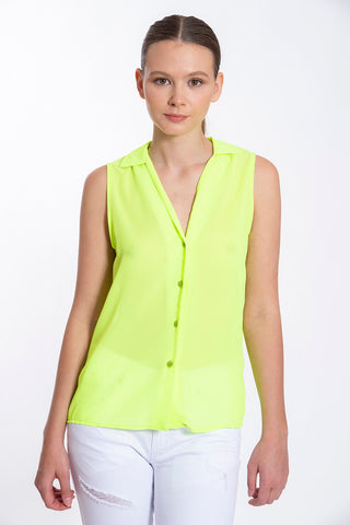 Akè neon sleeveless shirt