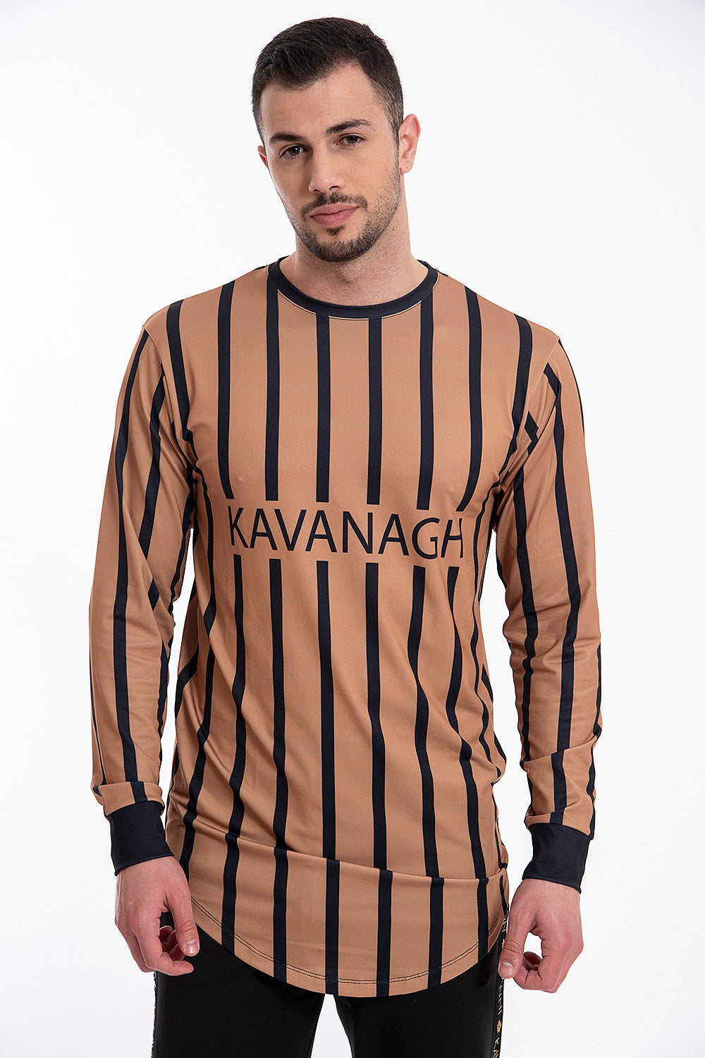 Kavanagh long sleeved stripes top