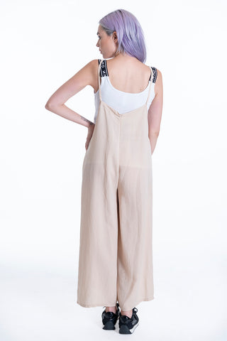 Oversized jumpsuit with extra inner top