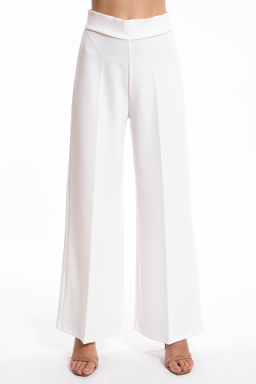 Eiki pull on wide leg trousers