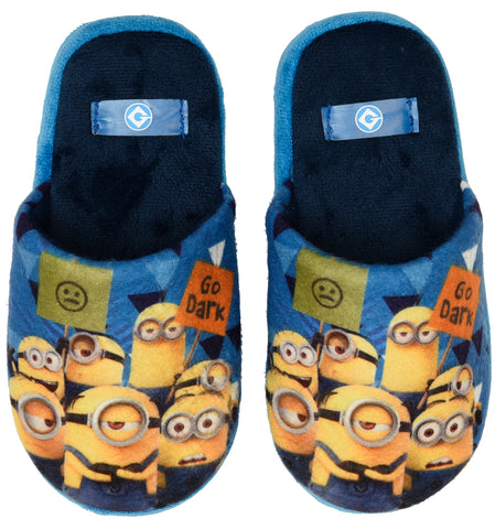Minions protest design slippers