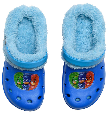PJ Masks clogs with inner fur