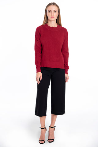 Patrizia Segreti oversized knitted top