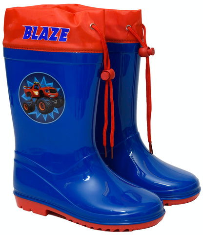 Blaze and the master machines rainboots with drawstring