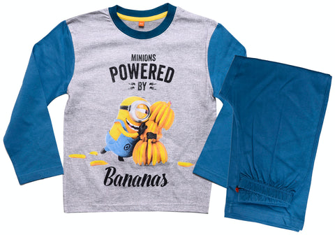 Minions Powered by Bananas pyjamas set