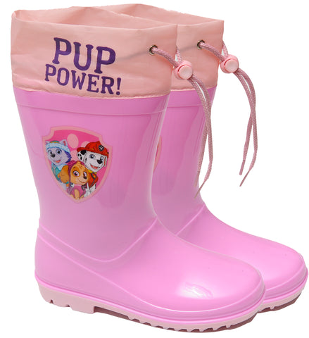 Paw Patrol heroes rainboots with drawstring