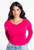 Tensione in boatline thin knitted top