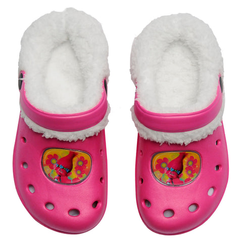 Trolls clogs with inner fur