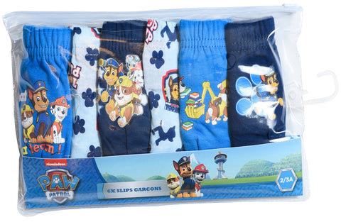 Paw Patrol pack of 6 slips