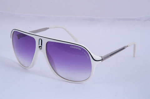 Carrera aviator white sunglasses