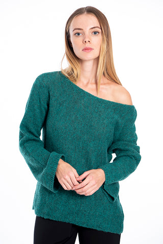 Infinity Knitwear oversized jumper with bell sleeves