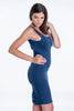 Bojo bodycon dress with ruched back