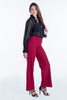 Akè wide leg trousers with side zip