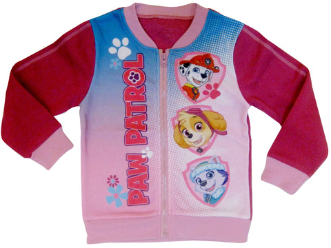 Paw Patrol jumper with zip fastening