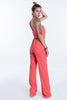 núa one shoulder jumpsuit with wide leg