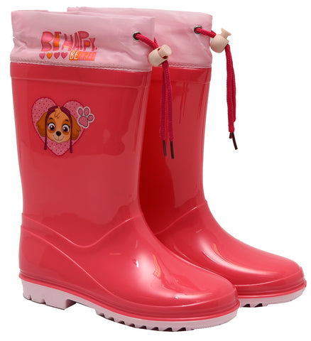 Paw Patrol Skye rainboots with drawstring