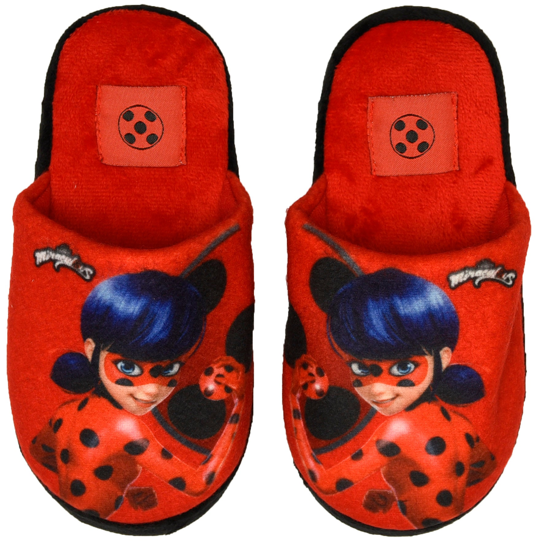 Miraculous slipper with hero design