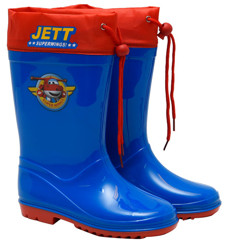 Jet Superwings rainboots with drawstring