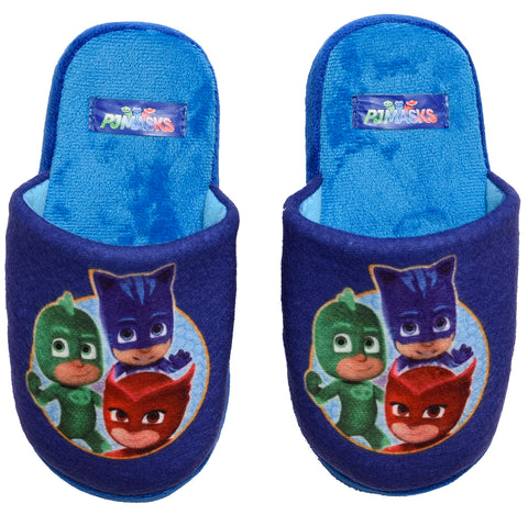 PJ Masks slippers with circle logo