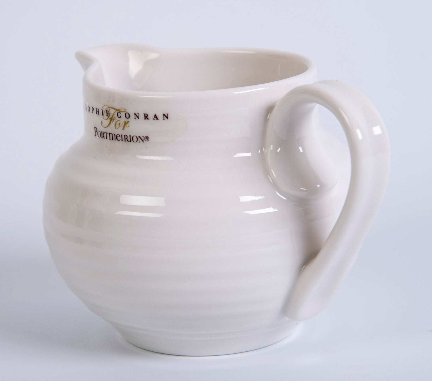Sophie Conran for Portmeirior white creamer jug
