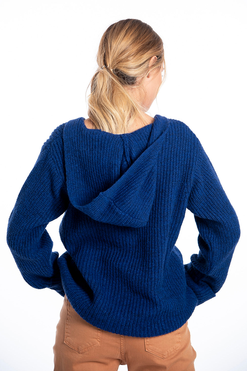 Infinity Knitwear hooded jumper