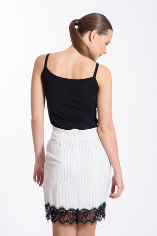 Akè basic black top