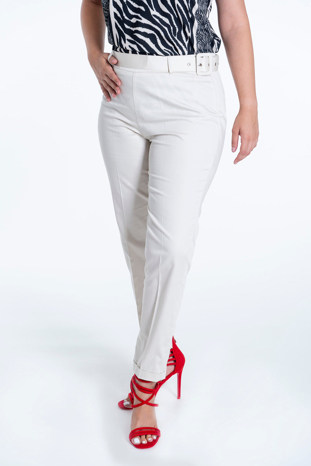 Akè ankle length tailored trousers