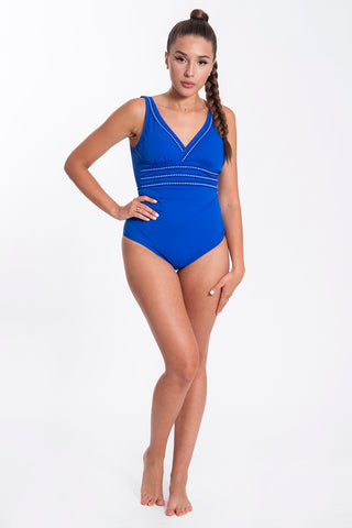 David plunge top onepiece swimsuit