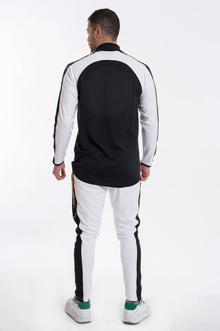 Kavanagh elasticated tracksuits with contrast waistband