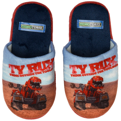 Dinotrux slippers
