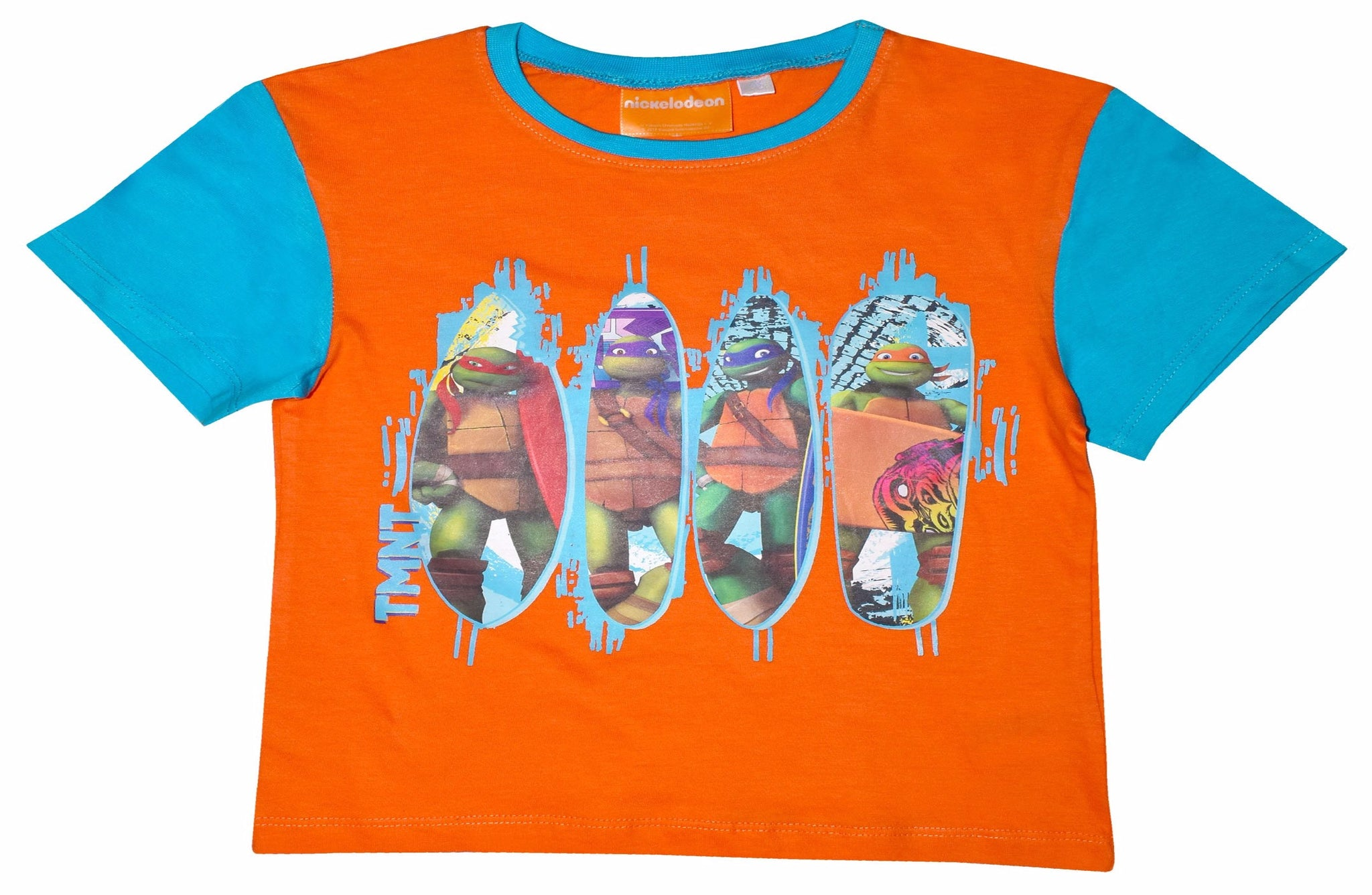 Ninja Turtles contrast sleeves t-shirt
