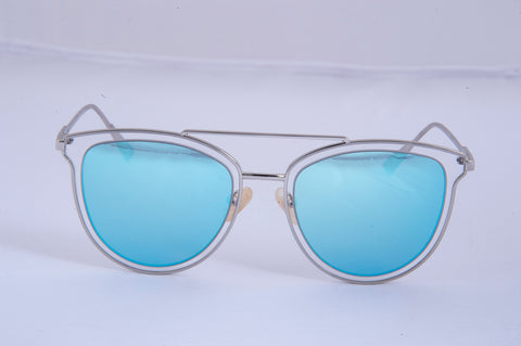 Cool Ray aviator sunglasses with metal oversized frame
