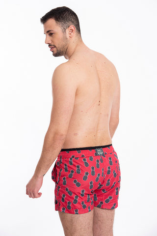David pineapple swim shorts
