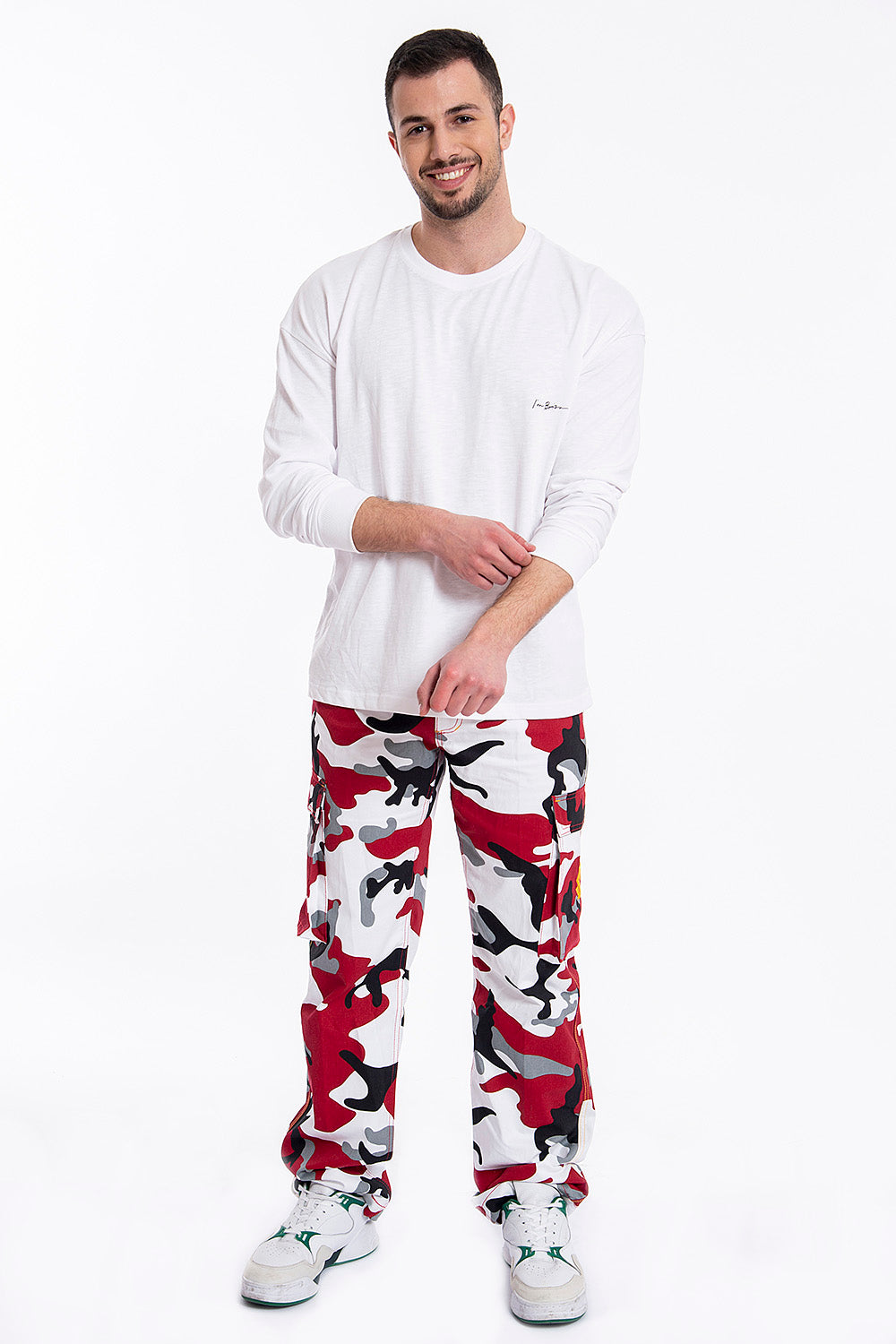 Cargo incognito trousers