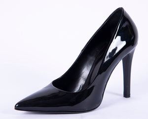 Makis Kotris leather stiletto court shoes