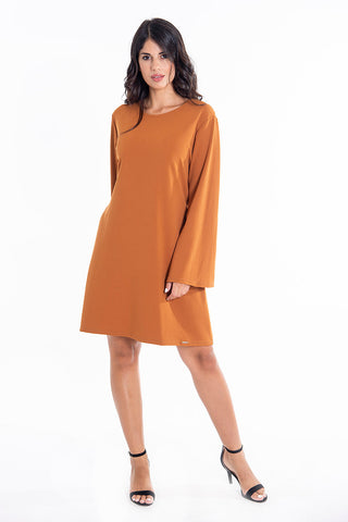 White22 oversized bell sleeves dress