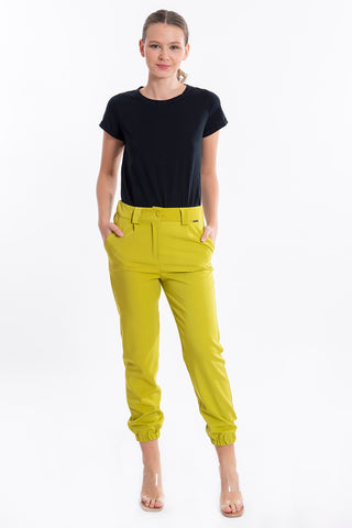 Akè cuffed trousers in mustard