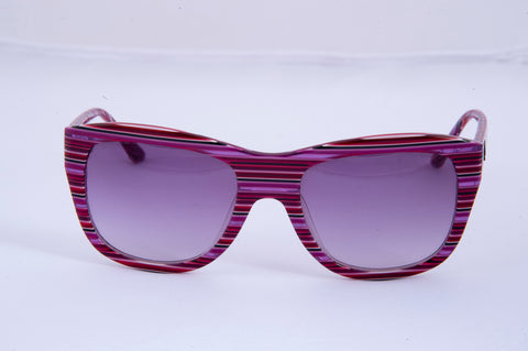 M Missoni purple square sunglasses