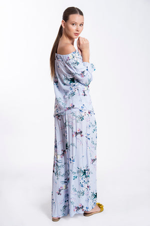Akè wide leg floral trousers